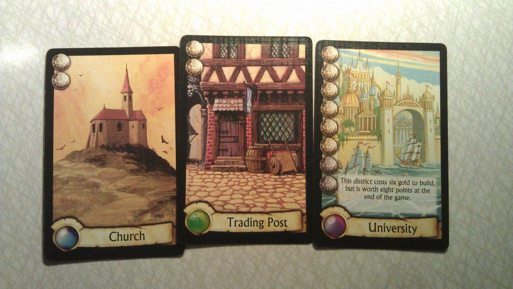 Byggnaderna i spelet är vackert illustrerade och det känns när de bränns ned av dina motspelare.