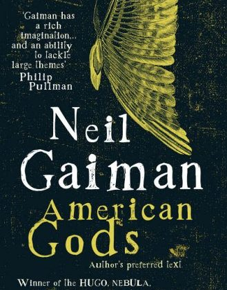 Neil Gaiman har förutom American Gods även skrivit Coraline och manus till seriealbumen om Sandman.