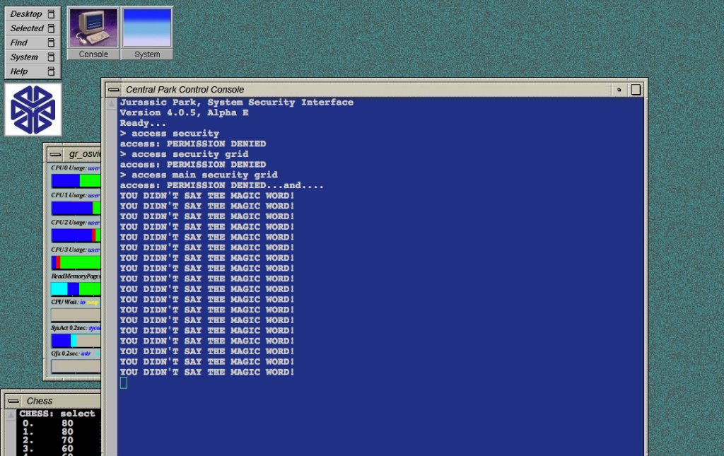 En klassisk vy som hjälpte till att skapa en sund syn på hackers under 90-talet.