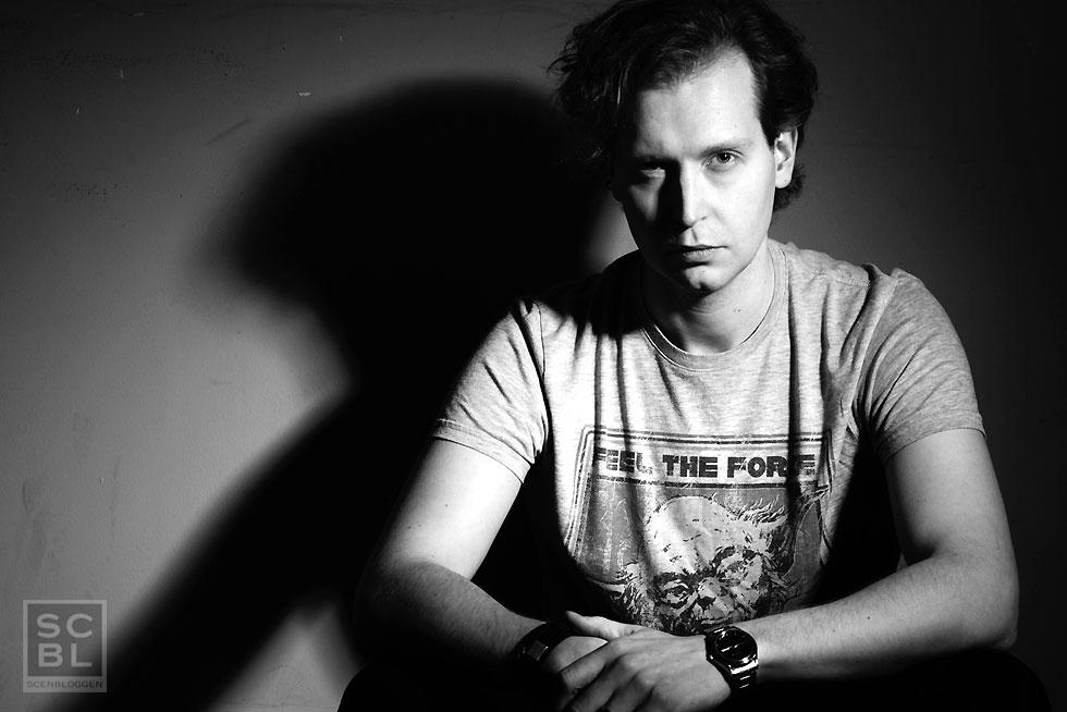 Rasmus Tirzitis, regissör och eldsjäl bakom Star Wars-fanfilmen Threads of Destiny som hade världspremiär i slutet av februari. Långfilmen tog nio år att göra klart. Foton: Armand Dommer