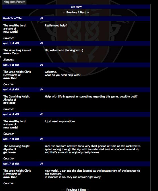 Forumet finns till för att fråga om hjälp...
