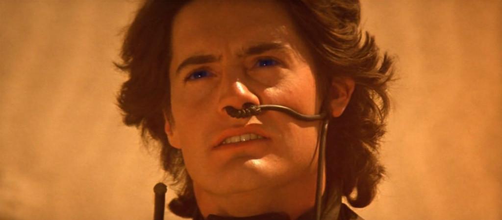 Kyle MacLachlan som Paul Atreides i filmen Dune från 1984.