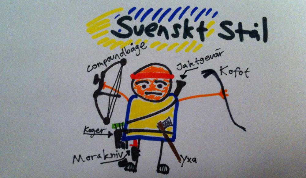 Så här ser scenariot Svenskt Stål ut, något förenklat.