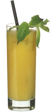 Bild på drinken zombie. Recept och foto är hämtat med tillåtelse av http://www.cocktailguiden.com