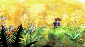 Screenshot från tv-spelet Braid (2008) som tog tre år och 1,4 miljoner kronor att få klart.