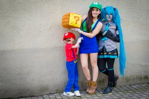 Cosplay är en viktig del av både Sverok och Comic Con/Gamex. Foto: Andreas Pegelow