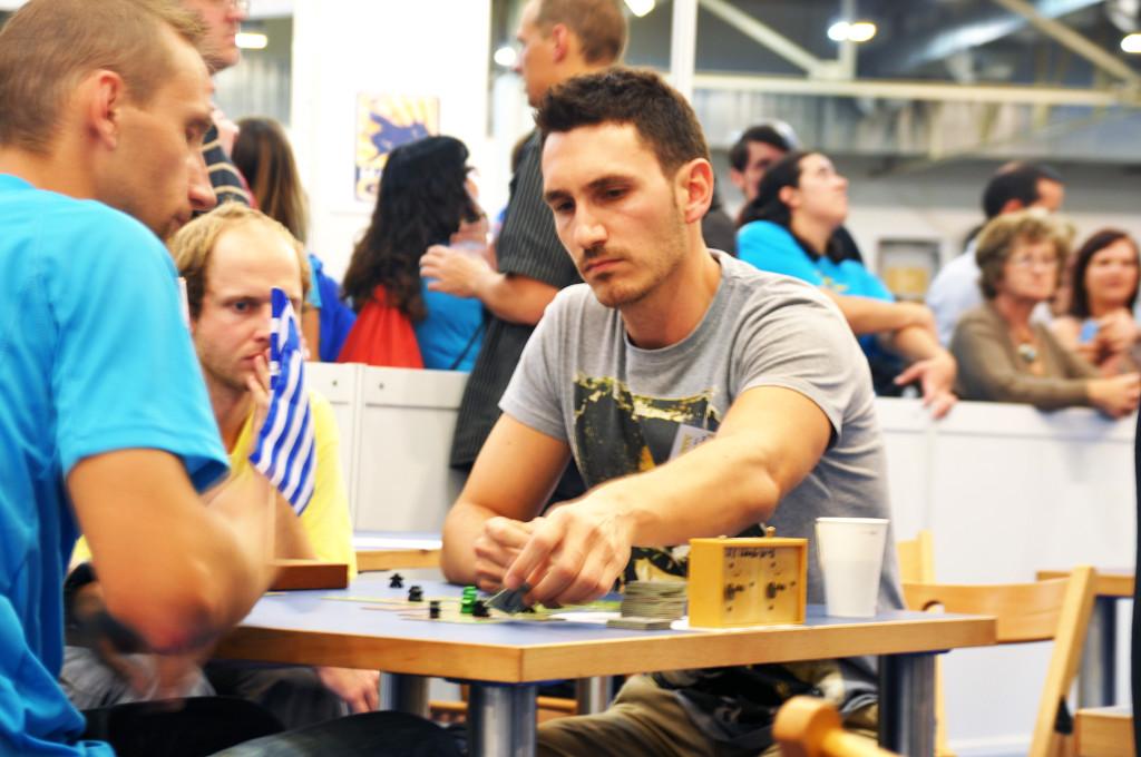 Panteli Litsardopoulus from Greece versus Matej Tabac from Slovakia in the semifinal.