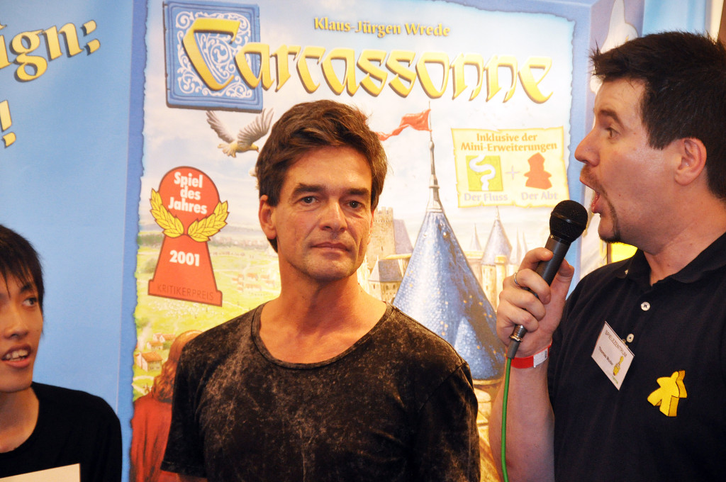 The creator of the game - Klaus-Jürgen Wrede.