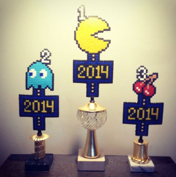 Priserna till SM i Pac-Man-