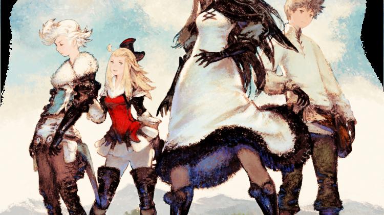 Ringabel, Edea, Agnes och Tiz är dina fyra hjältar som du ska rädda världen med.