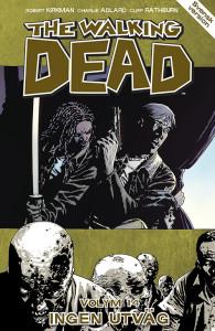 Omslaget för senaste numret av The Walking Dead- volym 14 Ingen utväg. Foto: Apart förlag