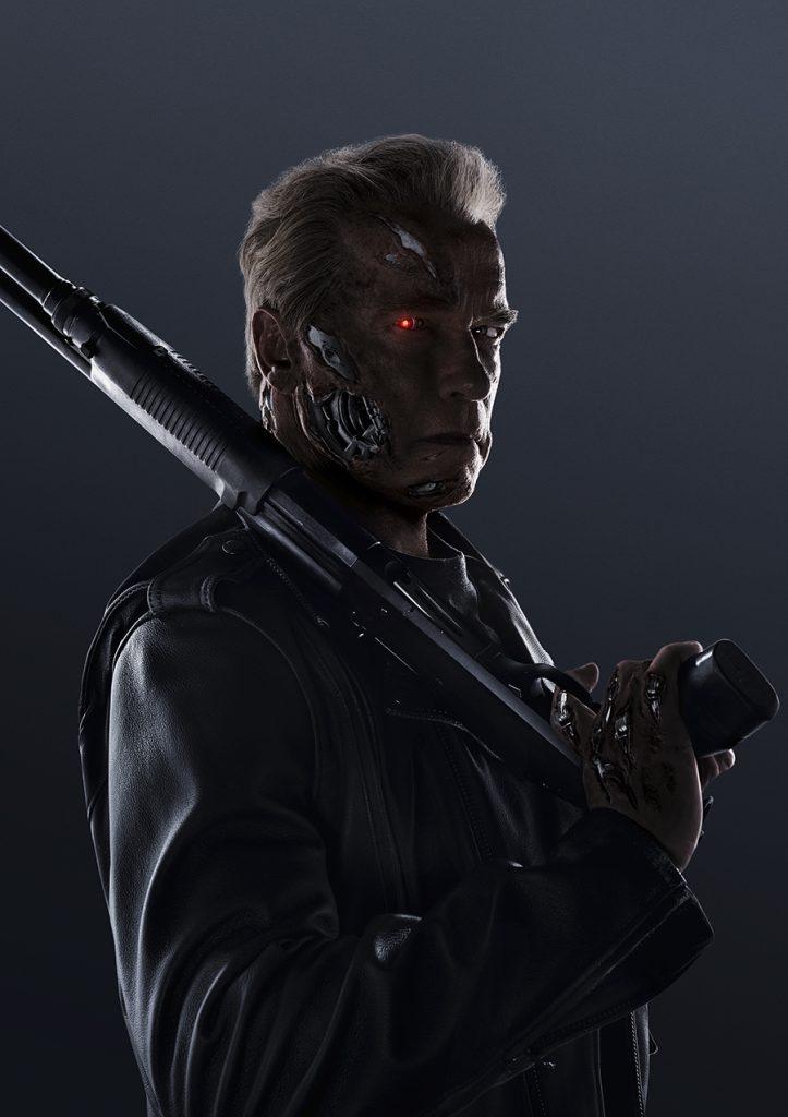 Arnold Schwarzenegger AKA The Governator är tillbaka som The Terminator. Foto: Pressbild/Paramount Pictures