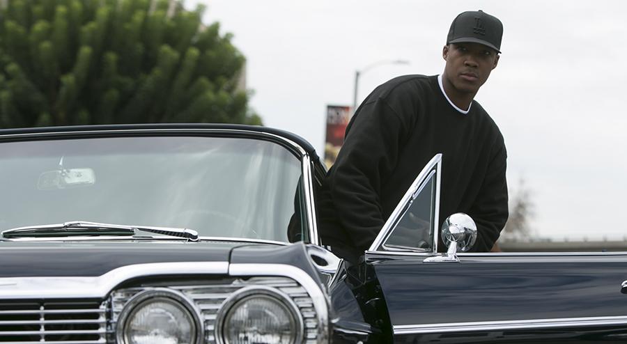 Lika som bär. Corey Hawkins eller Dr Dre? Foto: Pressbild / Universal Pictures