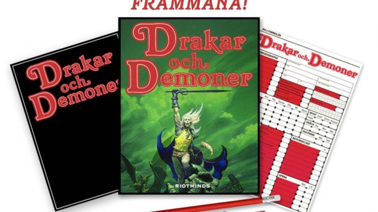 Drakar och demoner i nyutgåva! Foto: Riotminds