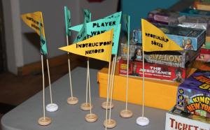 Behöver du hjälp eller en till spelare? Hissa flaggan! Foto: Spelföreningen SMASH