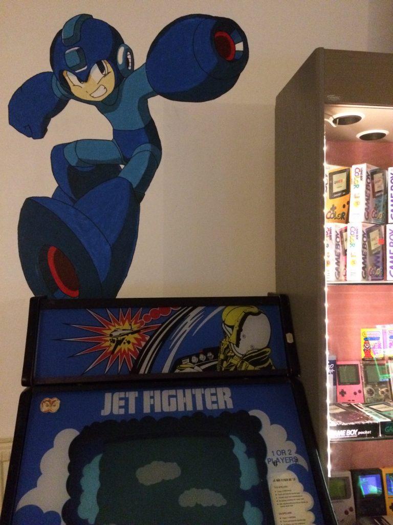 Megaman är som alltid med i snacket. Foto: Axel Johnson