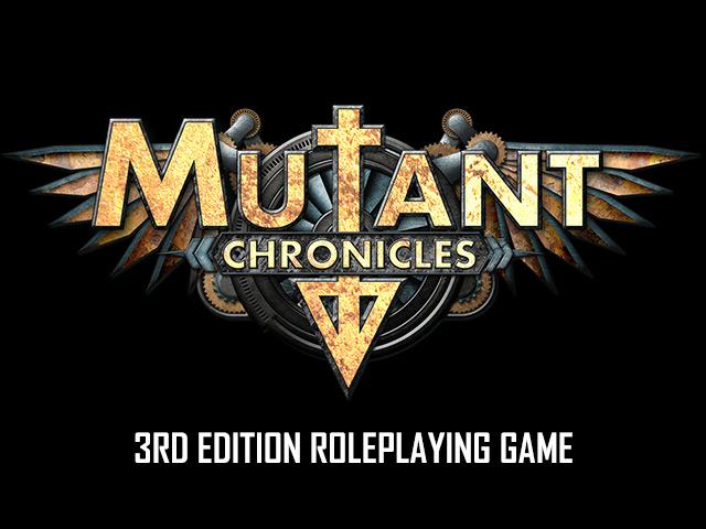 Mutant Chronicles 3rd Ed. kickstarat och efterlängtat
