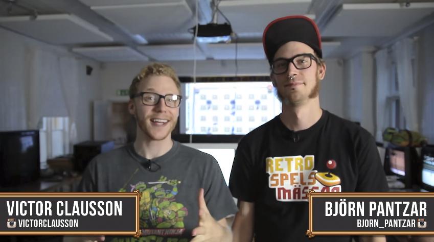 Så här ser de ut – Victor Clausson och Björn Pantzar. Foto: Youtube