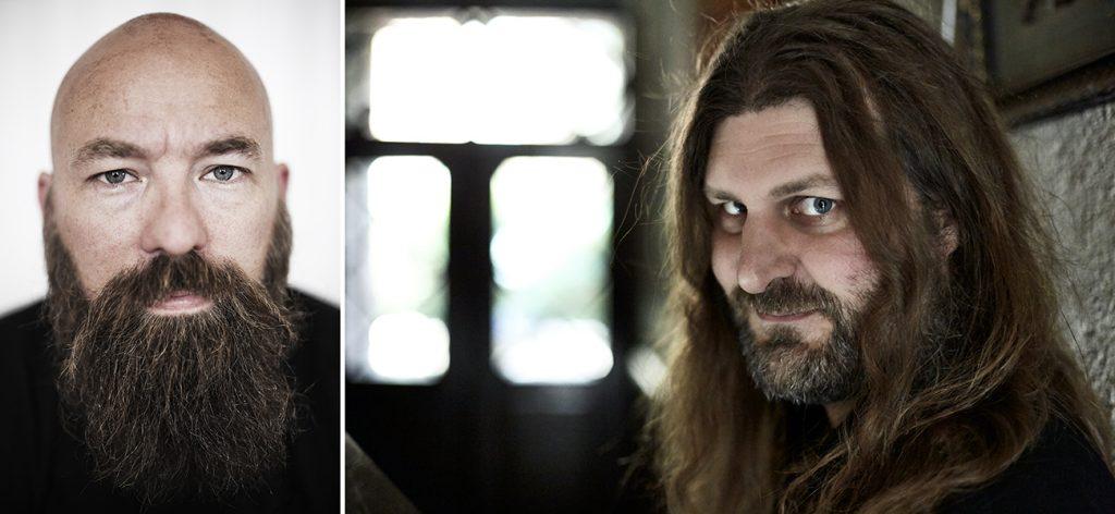 """Författarna Jimmy """"Spelpappan"""" Wilhelmsson och Orvar Säfström. Foto: Lars Jansson och Bengt Alm"""