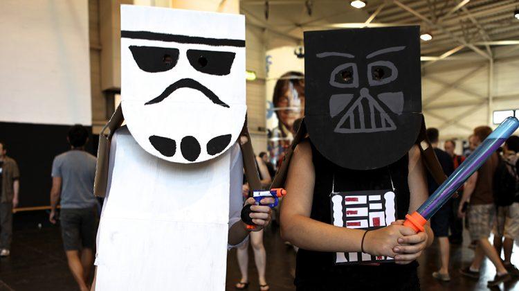 Star Wars-kläder är det några av Barrikadens medlemmar som tänker iklä sig. Det lär dock inte bli cosplay-klass på utstyrslarna. Bild från Star Wars Celebration 2013. Foto: Pressbild