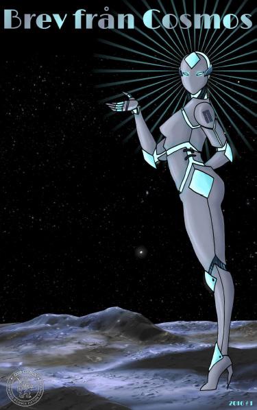 """Så ser den ut – framsidan till första numret av """"Brev från Cosmos""""."""