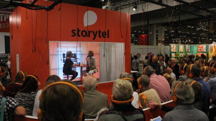 Björn Ranelid gästar Storytels monter