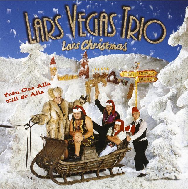 Så ser den ut, världens bästa julskiva någonsin: Lars Christmas.