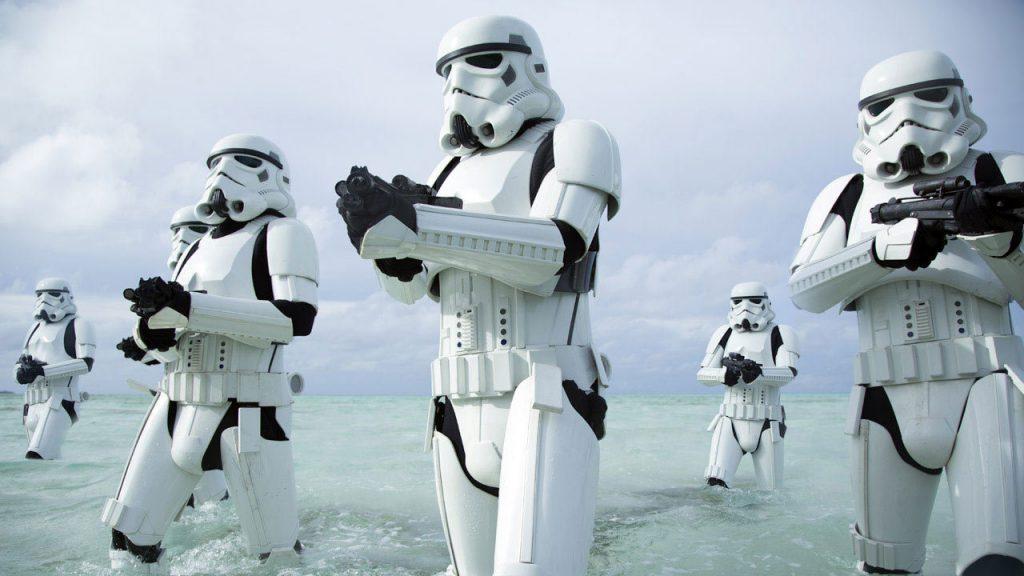 Stormtroopers på Scarif. Foto: Starwars.com