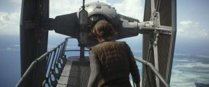 En av flera scener som sågs i trailern men sedan inte kom med i själva filmen.