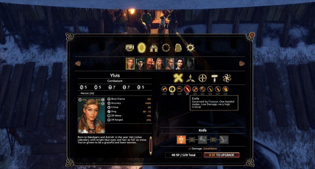 Bild från spelet Expedition: Viking