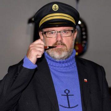 Björn Wahlberg, ordförande i Tintinföreningen. Foto: Oscar Larsson