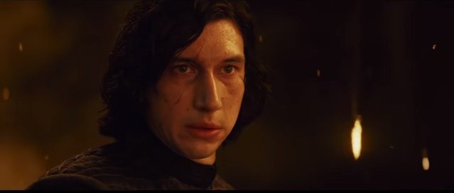 Kylo Ren i trailern. Bild: Youtube